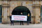 28. Februar auf dem Marktplatz: Demo für Brückentorsaal-Sanierung