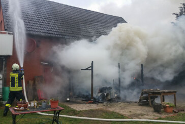 Feuerwehreinsatz in Möllenbeck: Schnelles Eingreifen verhindert Schlimmeres
