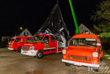 Mit 163 PS und LED-Licht zum Einsatz: Neues Fahrzeug für Feuerwehr Engern offiziell übergeben