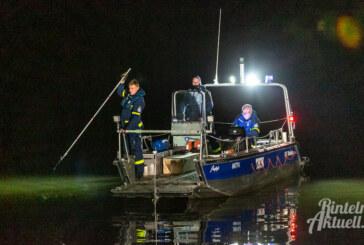 Übung an Kiesteichen: THW, Feuerwehr und Polizei suchen vermisste Person