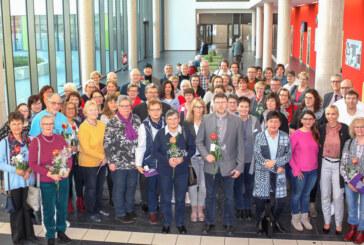 Über 100 Jubilare geehrt
