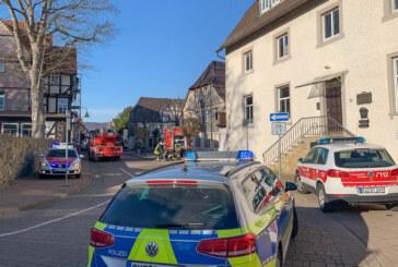 Feuerwehreinsatz in der Ritterstraße