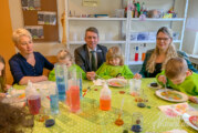 Volksbank in Schaumburg unterstützt Comenius-Kindergarten Rinteln