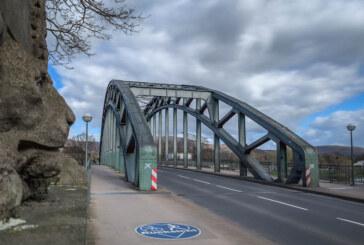 (Update: April, April!) Wegen Brandschutz: Weserbrücke wird voll gesperrt