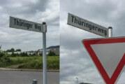"""""""Thüringer Weg"""" oder """"Thüringerweg""""?"""