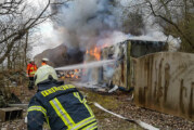 Feuerwehreinsatz am Steinzeichen Steinbergen