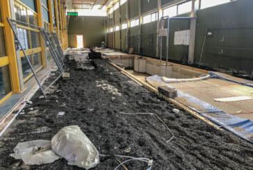 Wasserschaden: Teile der Kreissporthalle gesperrt