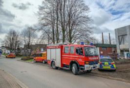Rinteln: Einsatz für Rettungskräfte bei Stüken / Mann bei Bauarbeiten abgestürzt