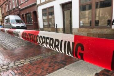 Rinteln: Polizeieinsatz wegen Tötungsdelikt in der Bäckerstraße