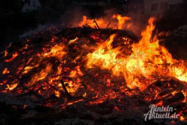 Osterfeuer und Zusammenkünfte in der Öffentlichkeit: Aktuelle Hinweise der Stadt Rinteln