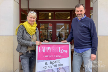 4. Happy Feet Day bei Schuh-Peters