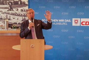 Wolfgang Bosbach begeistert in Rinteln