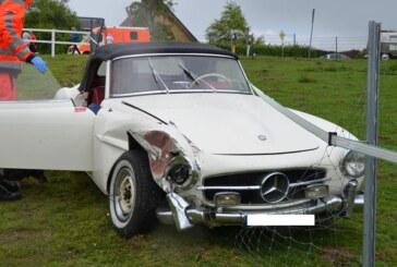 Unfall bei Oldtimer Weserberglandfahrt mit Verletzten und 81.000 Euro Schaden