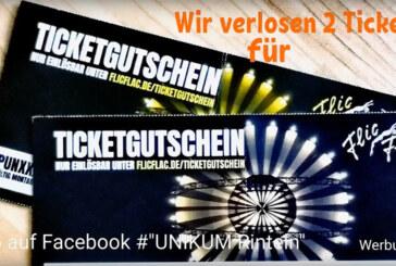 """Unikum verlost Freikarten für """"PUNKXXX"""""""