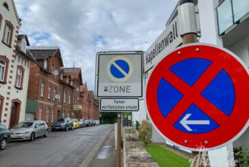 Sicherheit geht vor: Parken im Kapellenwall nur noch auf einer Straßenseite erlaubt