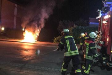 Nach Brandserie in Rinteln: Zwei Tatverdächtige (15, 19) festgenommen