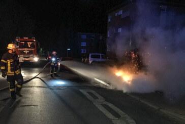 Nach Brandserie in Rintelner Nordstadt: Polizei bittet um Zeugenhinweise