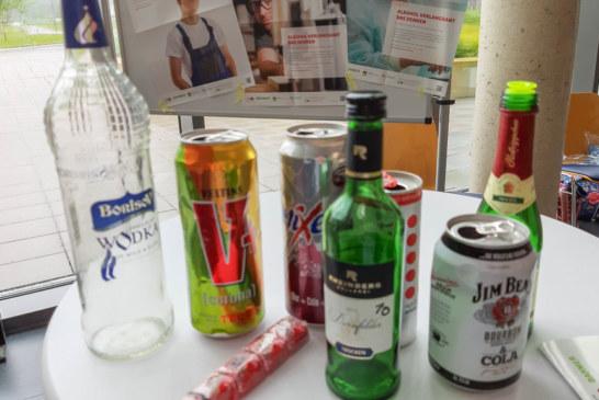 Kein Alkohol am Arbeitsplatz: Aktionswoche Alkohol im Klinikum Schaumburg vom 18 – 26. Mai