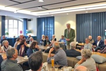 Kreative Wohnformen im Alter: Henning Scherf zu Gast in Rinteln