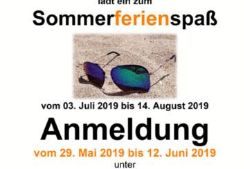So machen Sommerferien Spaß: Anmeldung zum Rintelner Sommerferienspaß 2019 startet am 29. Mai