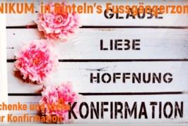 Bei Unikum: Geschenke zur Konfirmation und Kommunion