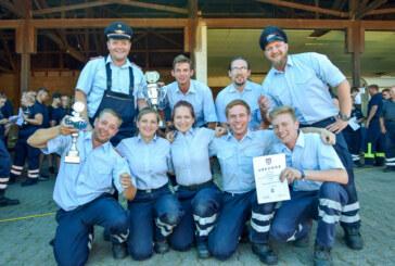 Stadtwettbewerbe der Rintelner Feuerwehren: Krankenhagen holt den Titel