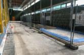 Sanierung des Wasserschadens in Kreissporthalle: Das dauert noch