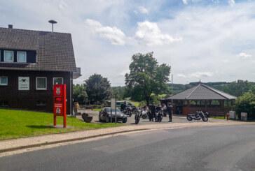 Polizei kontrolliert Motorräder in Westendorf und Wennenkamp