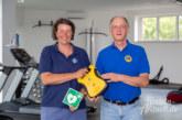 Dank Unterstützung durch den Lions Club: Defibrillator fürs Weser-Fit-Rinteln