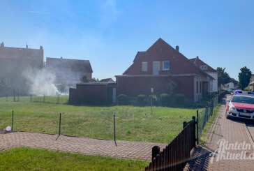 Rinteln: Brennende Thujahecke löst Feuerwehreinsatz aus