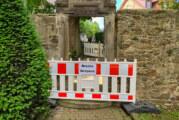Rinteln: Fußgängerbrücke am Rathaus gesperrt
