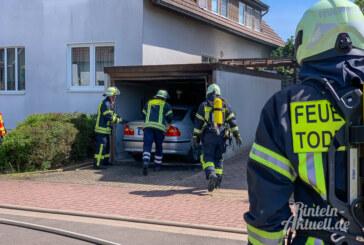Rinteln: Unfall bei Arbeiten mit Gasbrenner