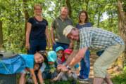 Rintelner Waldkindergärten auf den Spuren von Plastikmüll