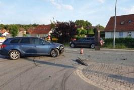 Verkehrsunfall in Möllenbeck