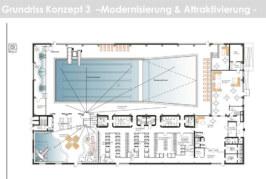 Nach Kritik wegen Sauna-Wegfall im Hallenbad: Aufsichtsrat der Bäderbetriebe hält an Umbauplänen fest