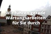 Neue Webcam-Ansicht am Rintelner Marktplatz außer Betrieb