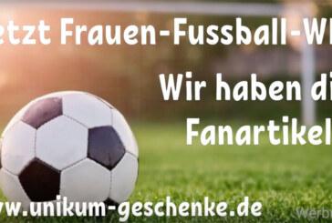 Fußball-Fanartikel bei Unikum Rinteln