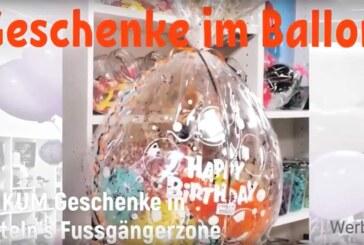 """Seit über 20 Jahren: """"Geschenke im Ballon"""" bei Unikum Rinteln"""