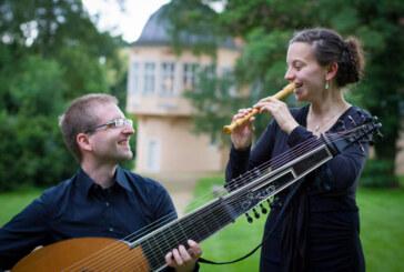 """Schaumburger Sommerkonzerte 2019: Duo """"Flauto Attiorbato"""" zu Gast in Deckbergen"""