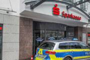 (Update) Polizeieinsatz: Rintelner Sparkassenfilialen Klosterstraße und Andeplatz evakuiert