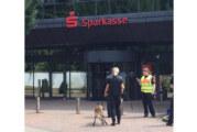 Rinteln: Anonymer Hinweis auf Bombe in Sparkasse
