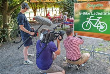 Ab sofort: E-Bike Ladestation im Biergarten am Weseranger
