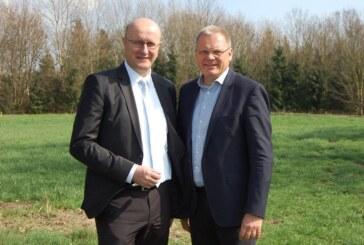 """Dirk Adomat & Karsten Becker: """"Bürgerbeteiligung beim Bau von Windrädern im Extertal ist sichergestellt"""""""