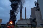 Nach Brand im Kraftwerk Veltheim: Kreis Minden-Lübbecke empfiehlt Vorsichtsmaßnahmen