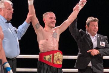 Zehn Runden und Sieg nach Punkten: Piergiulio Ruhe holt den Titel