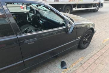 "Bahnhofstraße: Vandalen zerstören ""Dauerparker""-BMW"