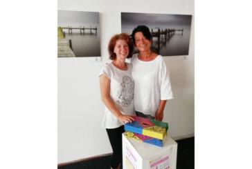 """Charity-Yoga in der Alten Druckerei bringt 350 Euro für """"Wellenreiter""""-Projekt des Kinderschutzbundes"""