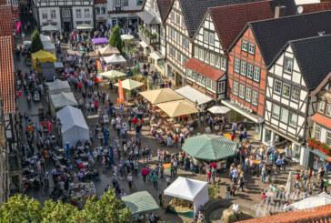 Rintelner Öko- und Bauernmarkt: Lebendige Vielfalt am 7. und 8. September 2019