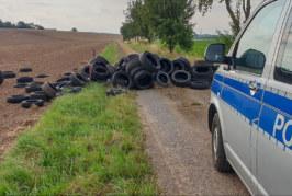 Unbekannte entsorgen Altreifen in der Feldmark: Polizei sucht Zeugen