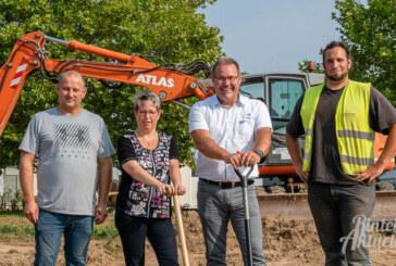 Spatenstich für SDS-Neubau im Industriegebiet Rinteln Süd